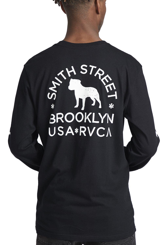 L-Sleeve RVCA WICKS SMITH ST Black