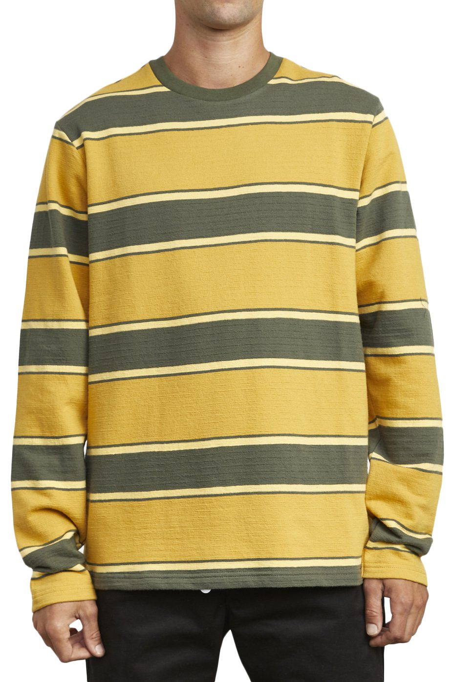 L-Sleeve RVCA REDUCER STRIPE LS Sequoia Green