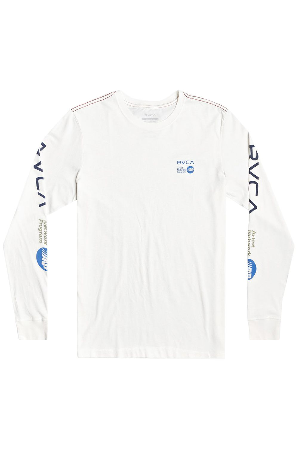 L-Sleeve RVCA ANP LONG SLEEVE White/Blue