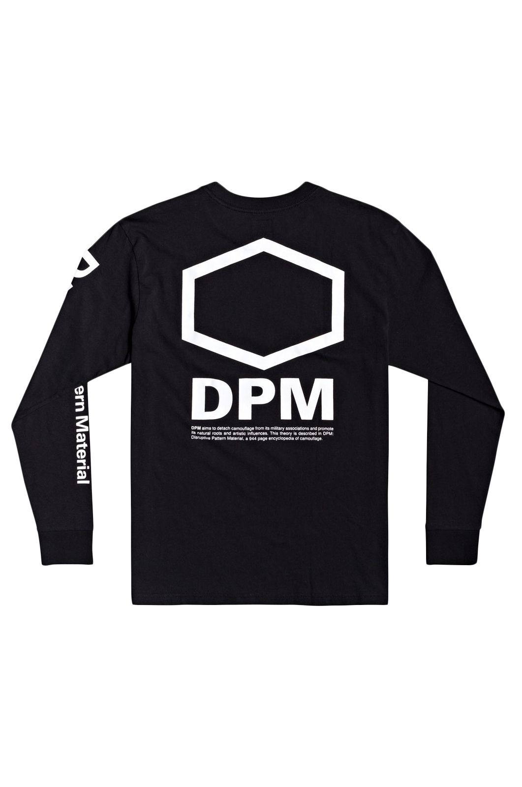 L-Sleeve RVCA DPM LONG SLEEVE TEE DPM Black