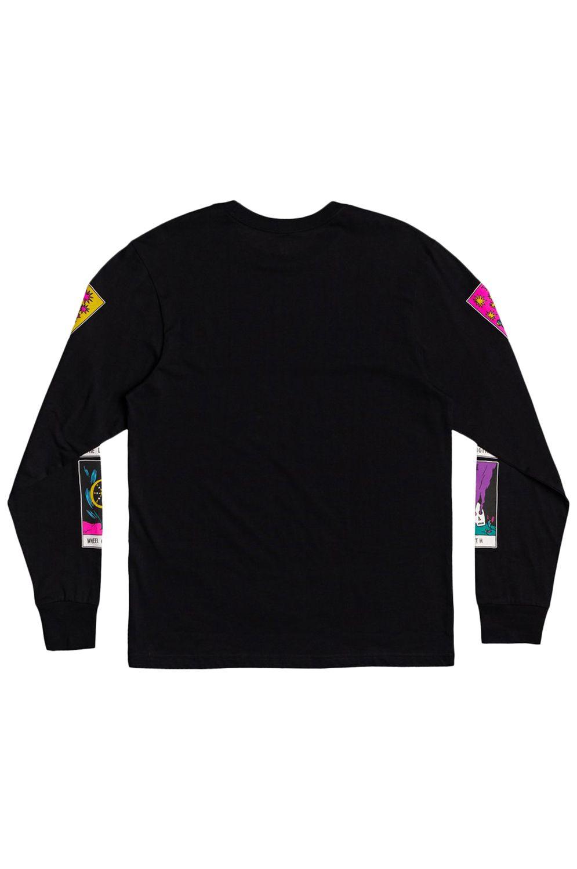 L-Sleeve RVCA SB TAROT LS Black