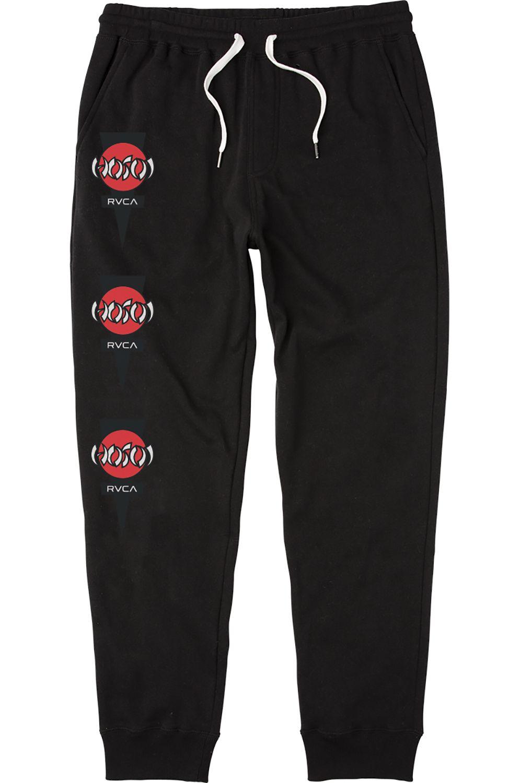 RVCA Pants HOSOI Black
