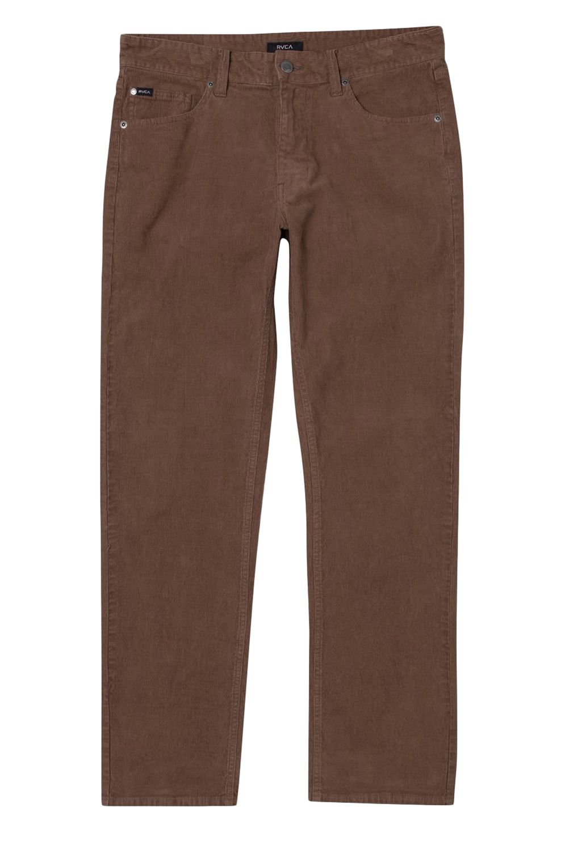 RVCA Pants DAGGERS PIGMENT CORD Cocoa