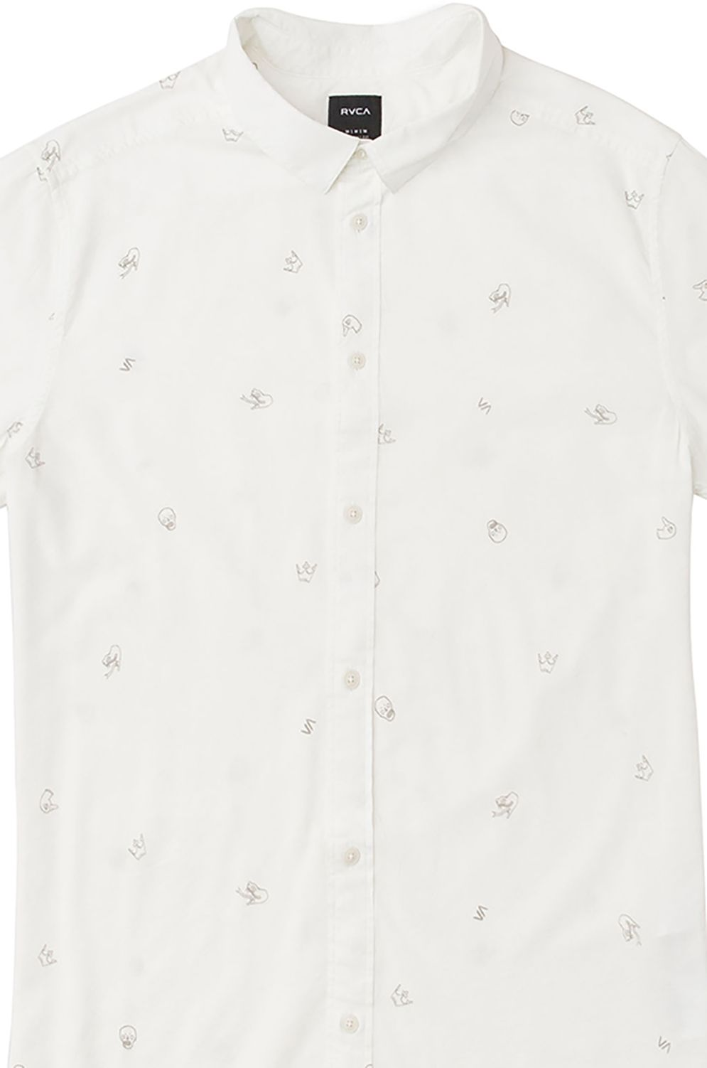 Camisa RVCA POMMIER BUDS SS ANDREW POMMIER Antique White