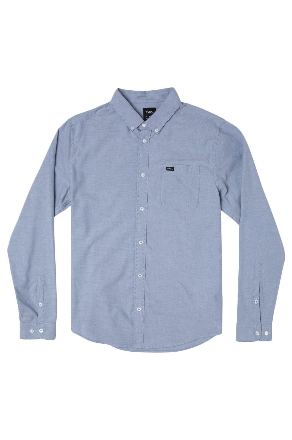 Camisa RVCA THATLL DO STRETCH LS Distant Blue