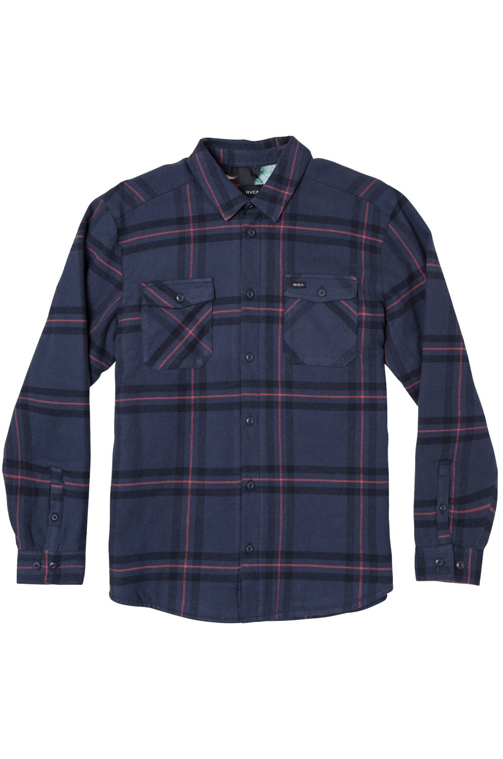 RVCA Shirt YIELD FLANNEL Navy