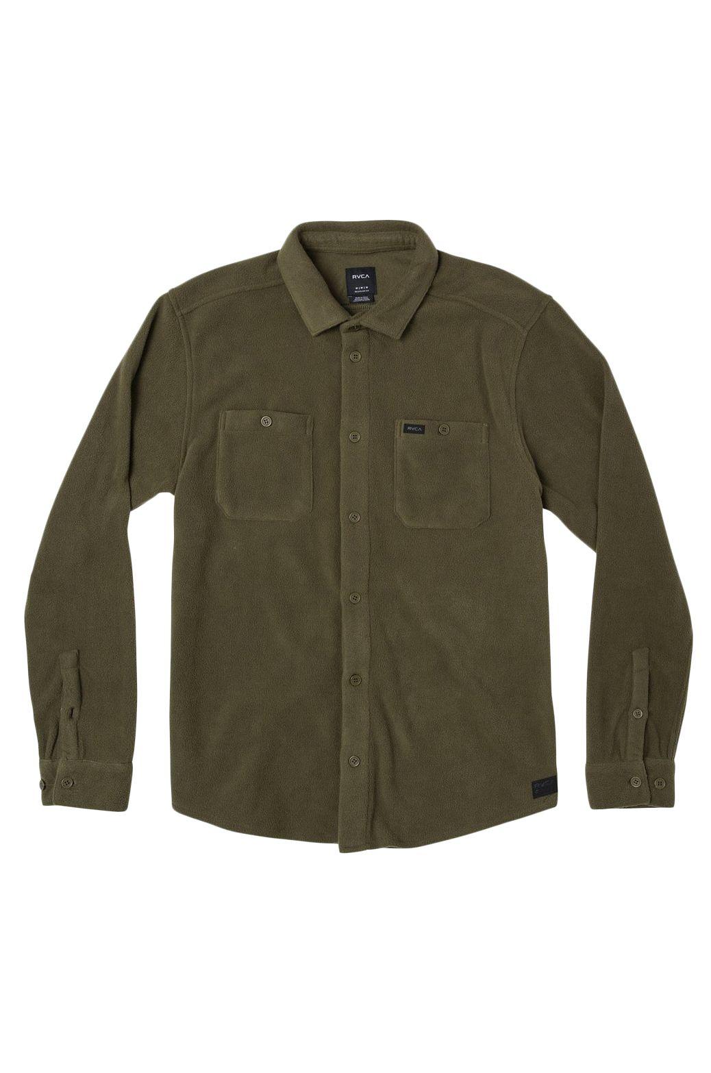 Camisa RVCA UPLIFT II LS Olive