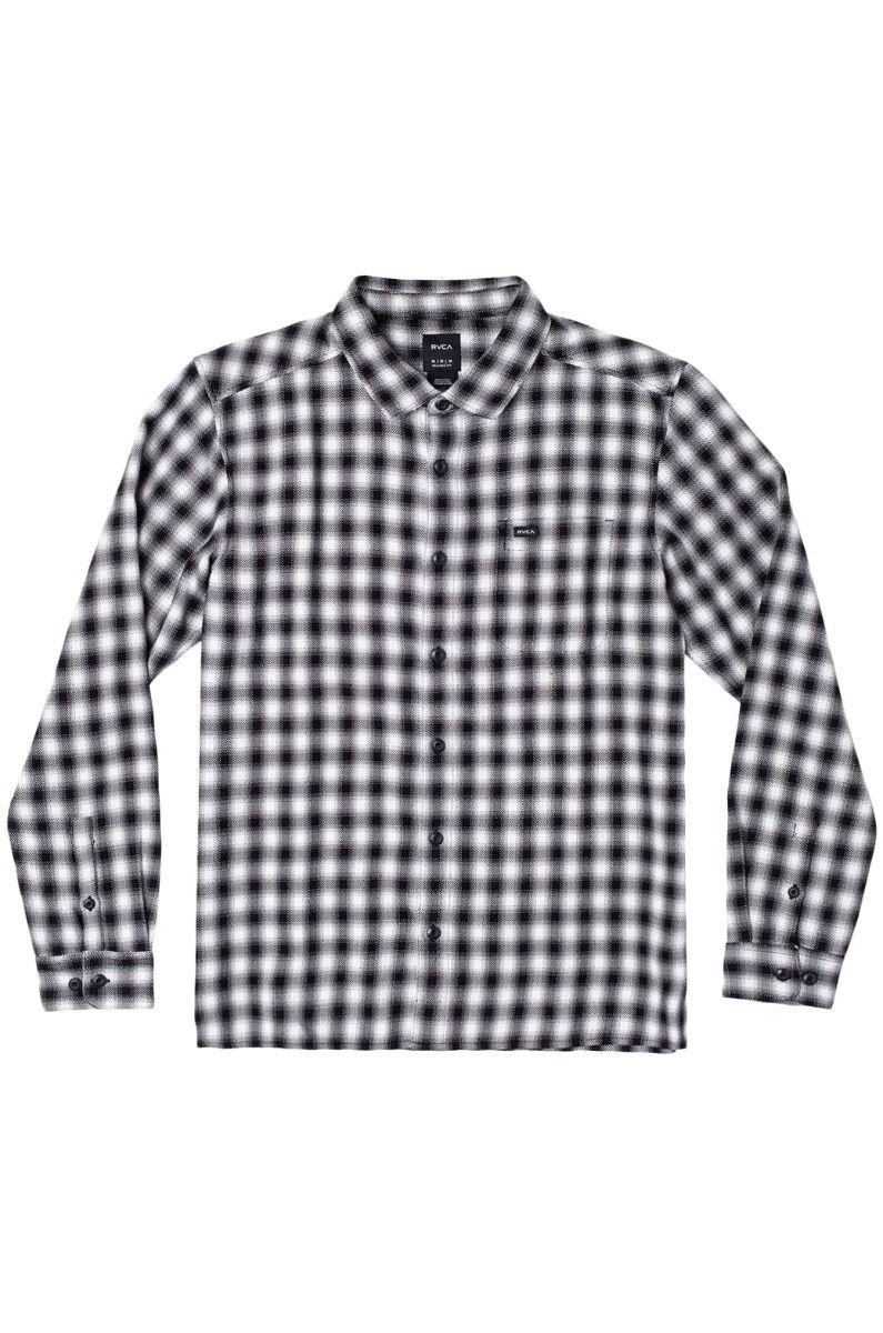 RVCA Shirt TELEGRAPH LS Black
