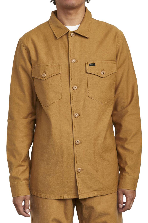 Camisa RVCA FUBAR SHIRT JACKET Camel