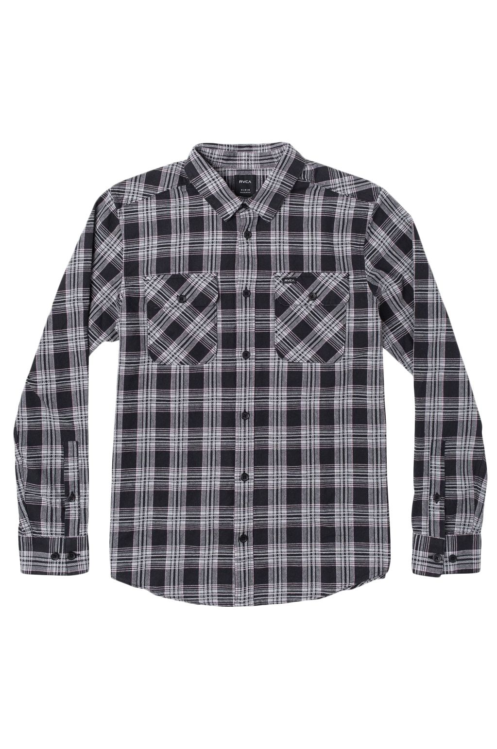 Camisa RVCA THATLL WORK FLANNEL Black