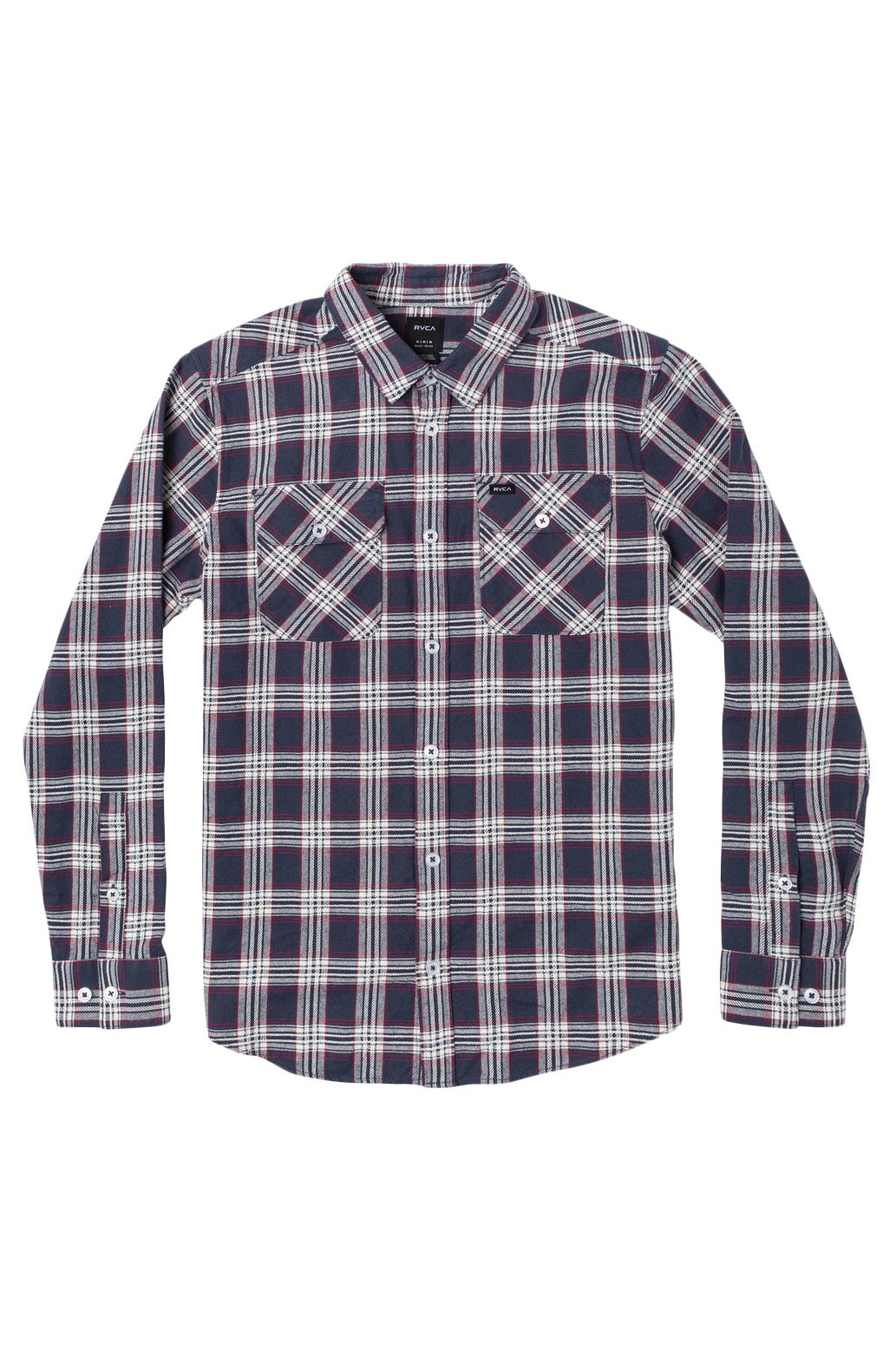 RVCA Shirt THATLL WORK FLANNEL Moody Blue
