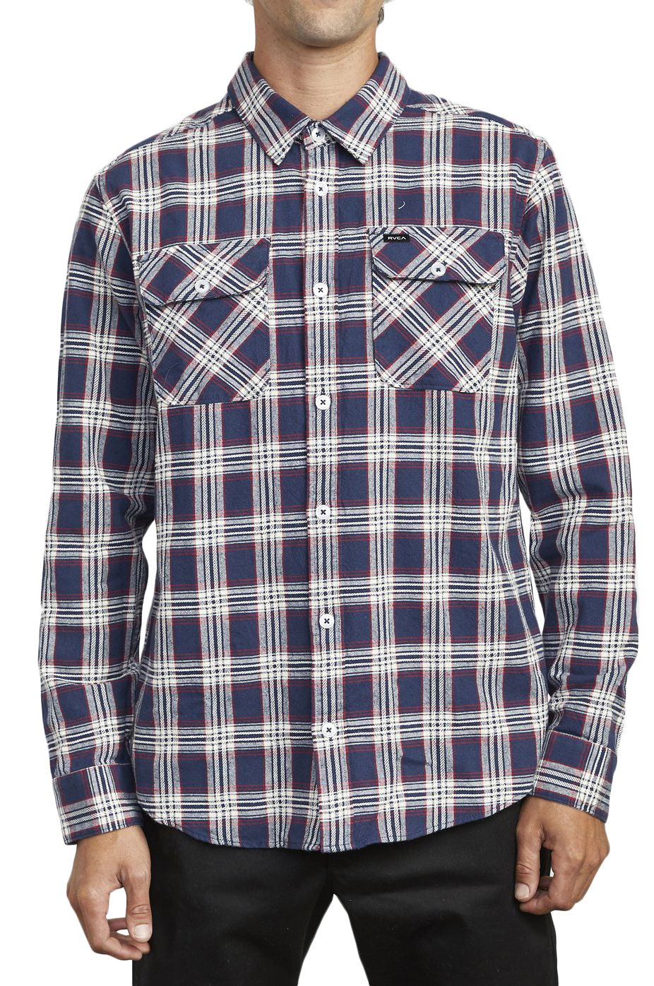 Camisa RVCA THATLL WORK FLANNEL Moody Blue