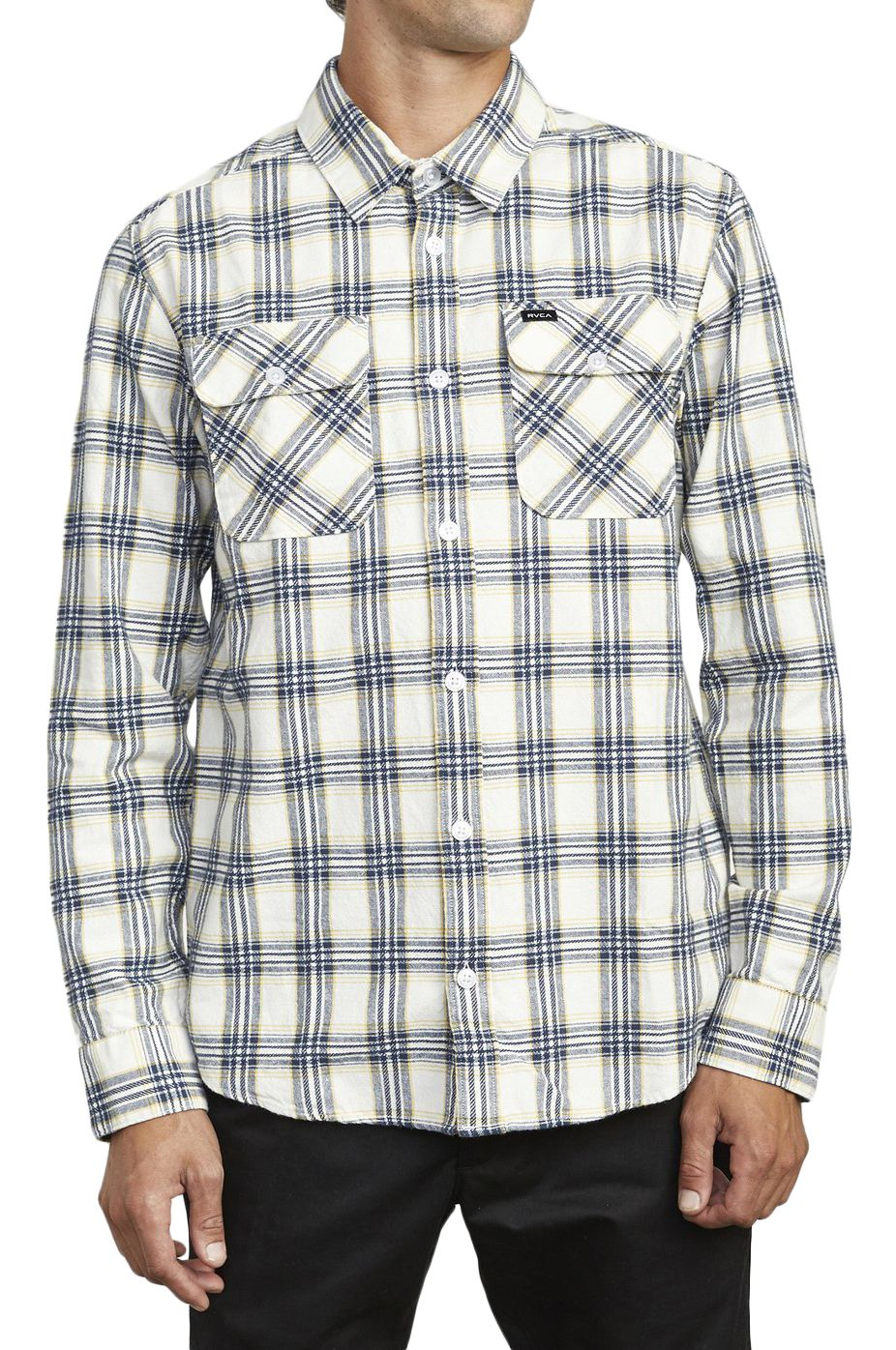 Camisa RVCA THATLL WORK FLANNEL Antique White