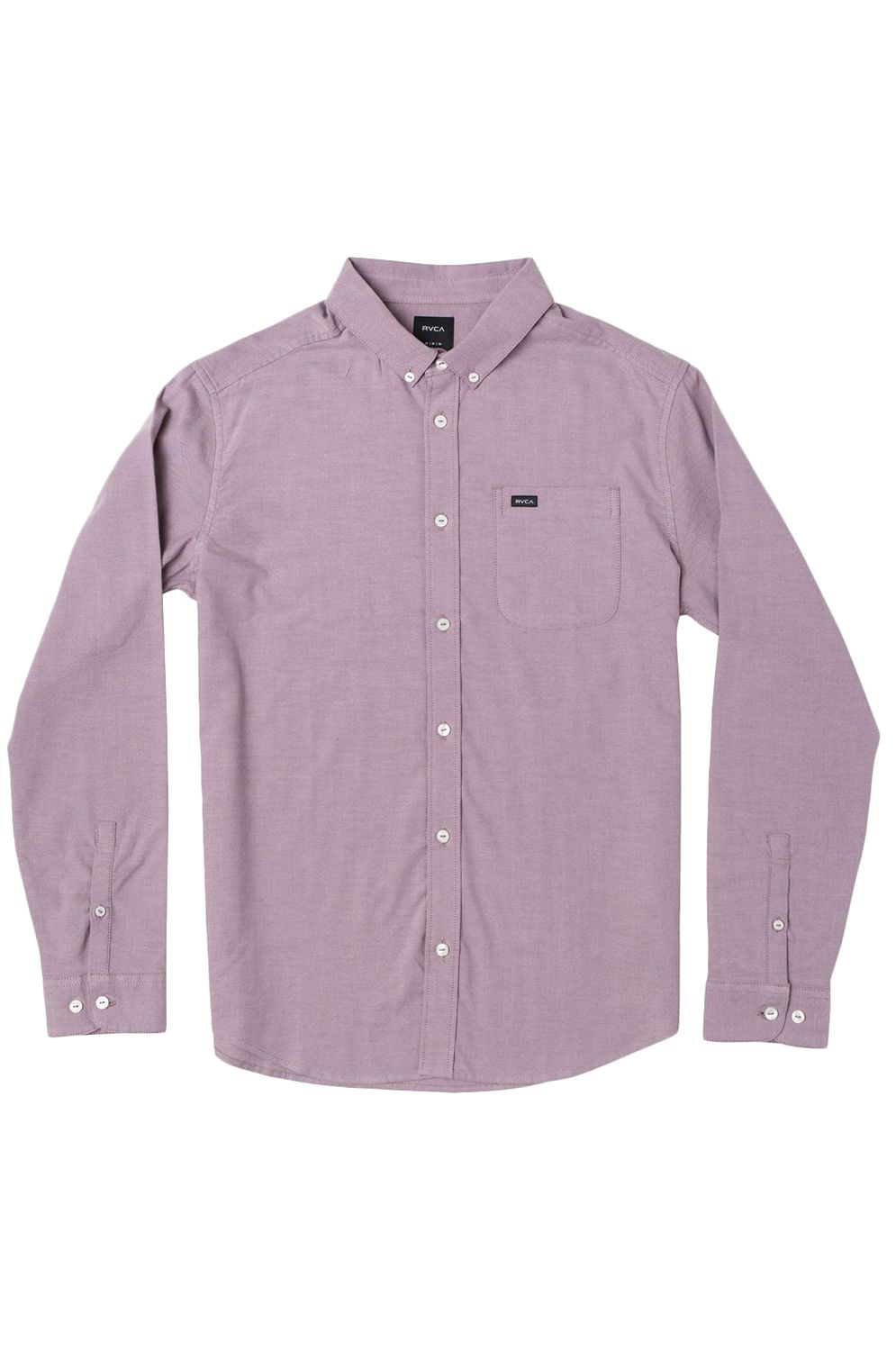 RVCA Shirt THATLL DO STRETCH LS Merlot