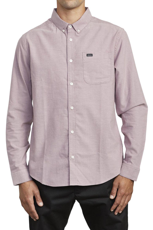 Camisa RVCA THATLL DO STRETCH LS Merlot