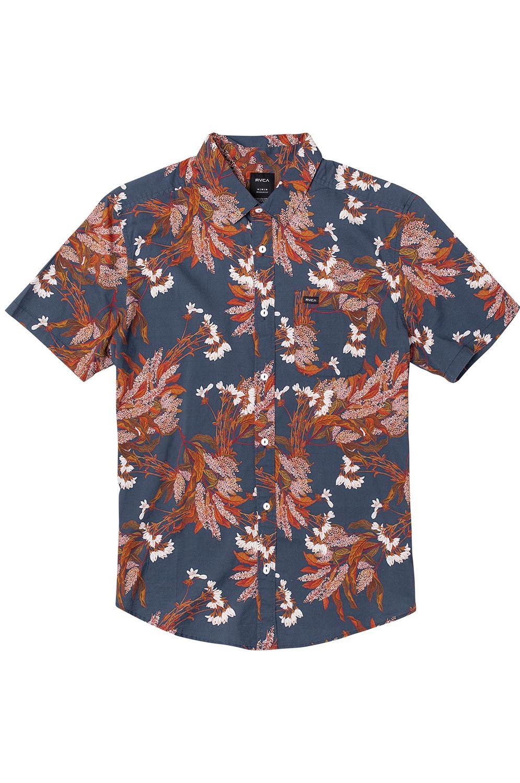 Camisa RVCA PARADISO SS Navy