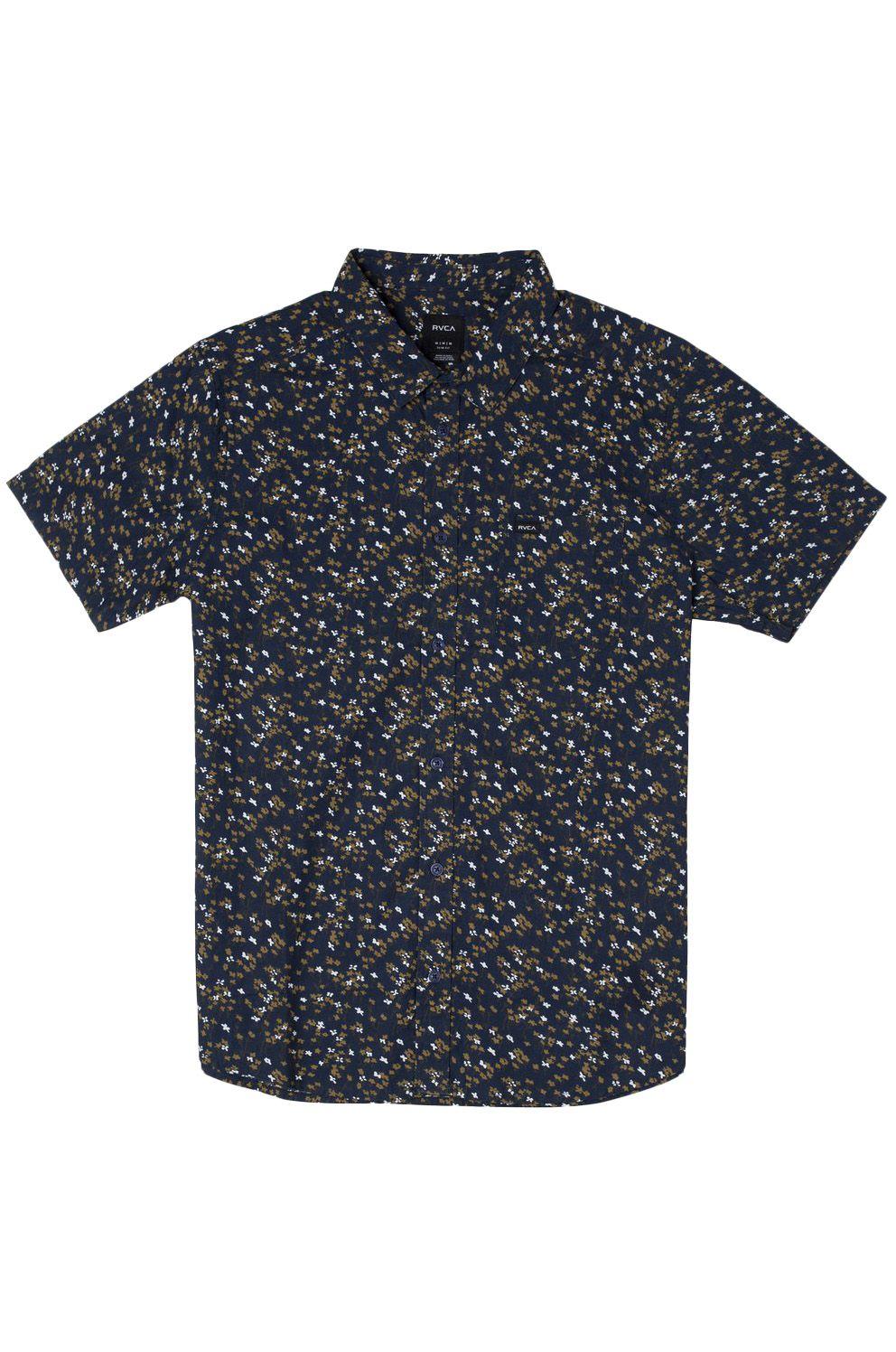 Camisa RVCA ETERNAL SS Moody Blue