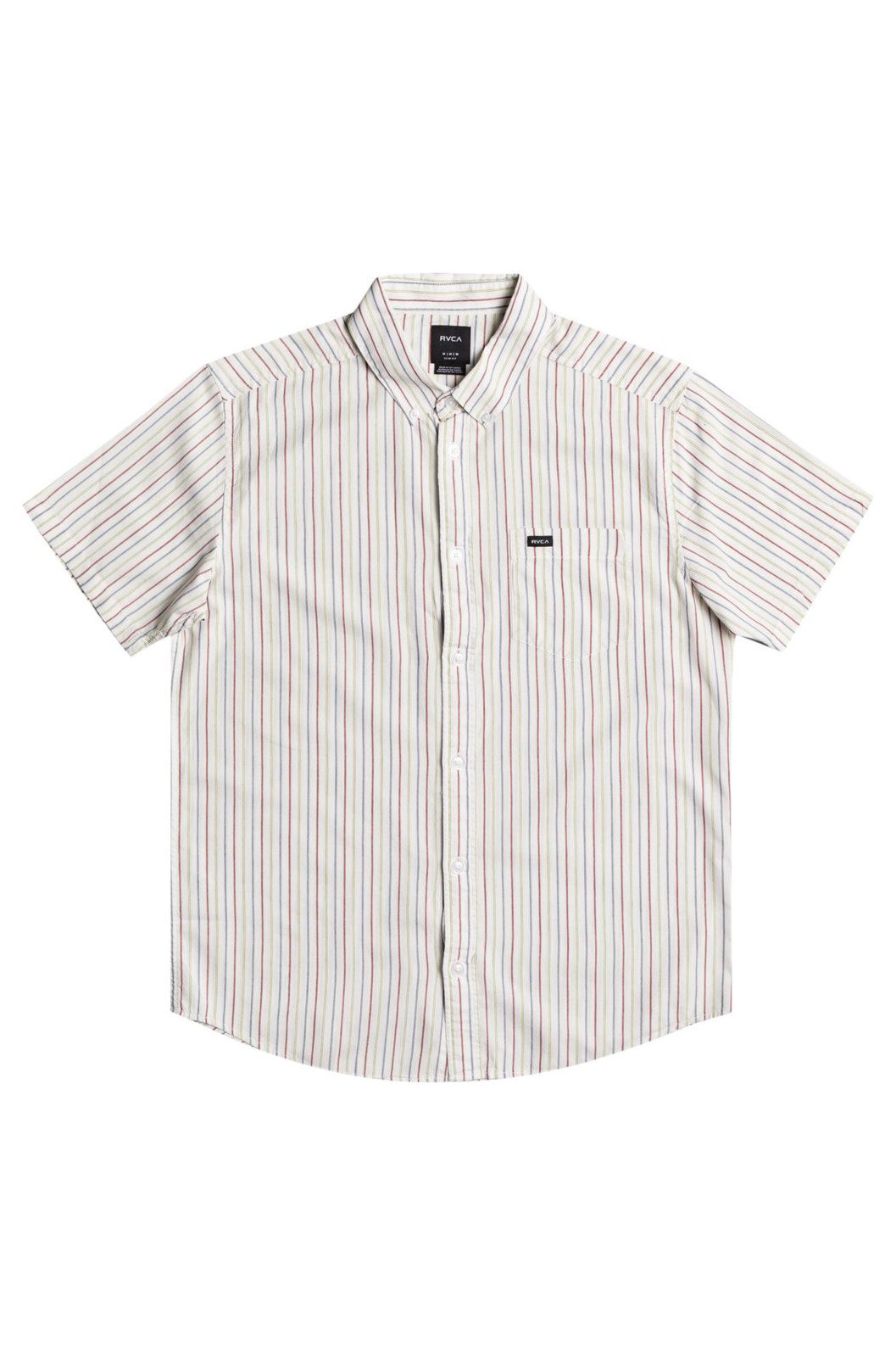 Camisa RVCA CASSIDY STRIPE SS Antique White