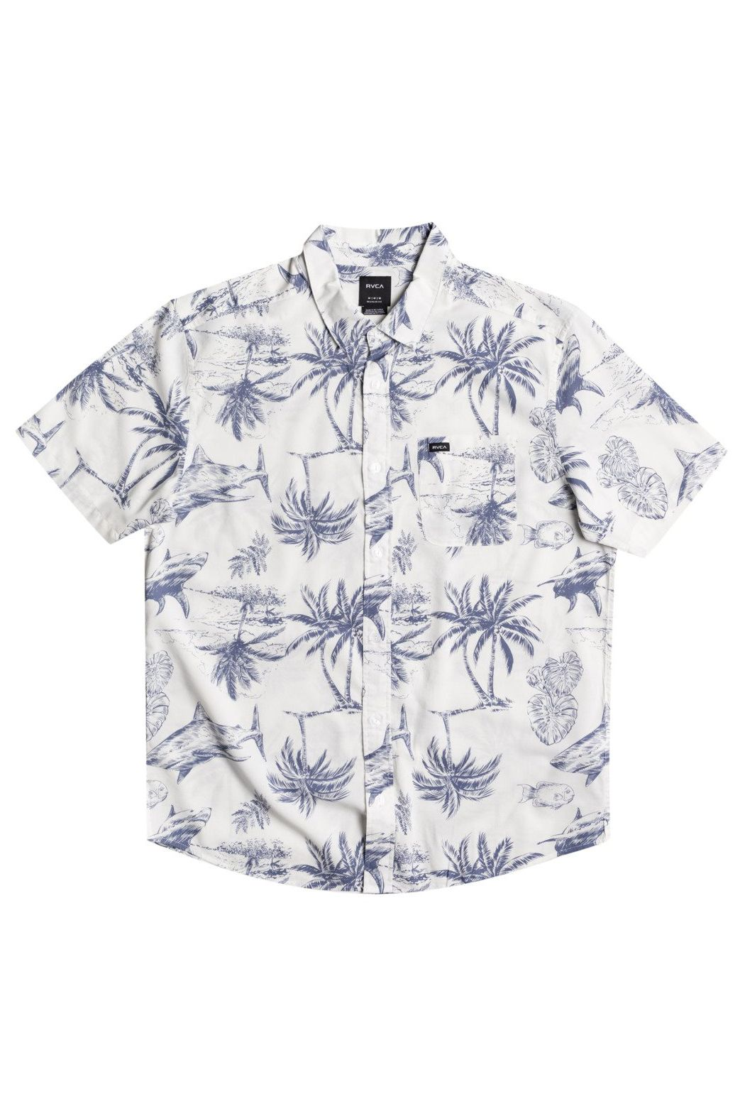 Camisa RVCA PANIC POINT SS Antique White