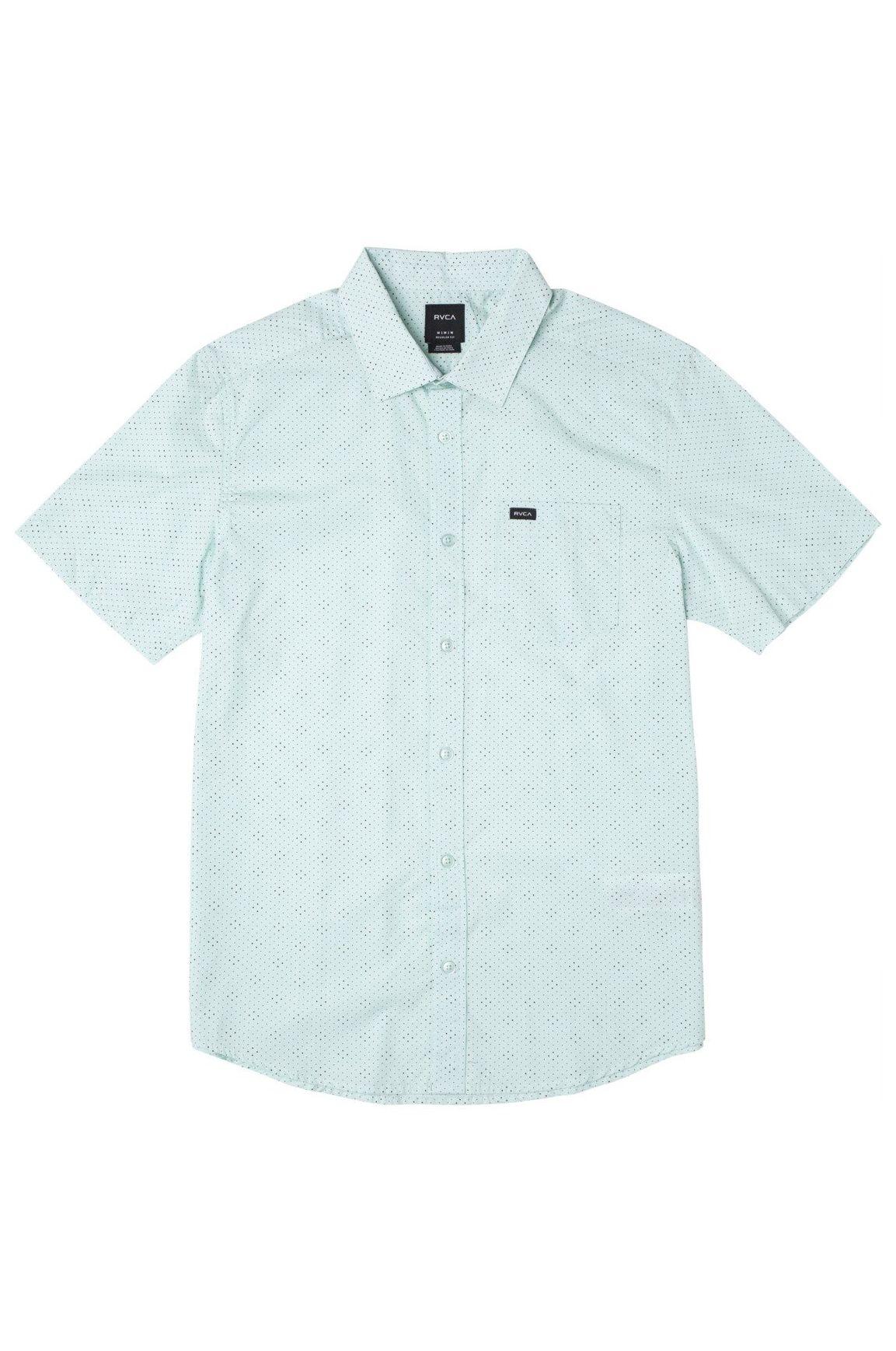 Camisa RVCA CARLO DOT SS Ice Blue