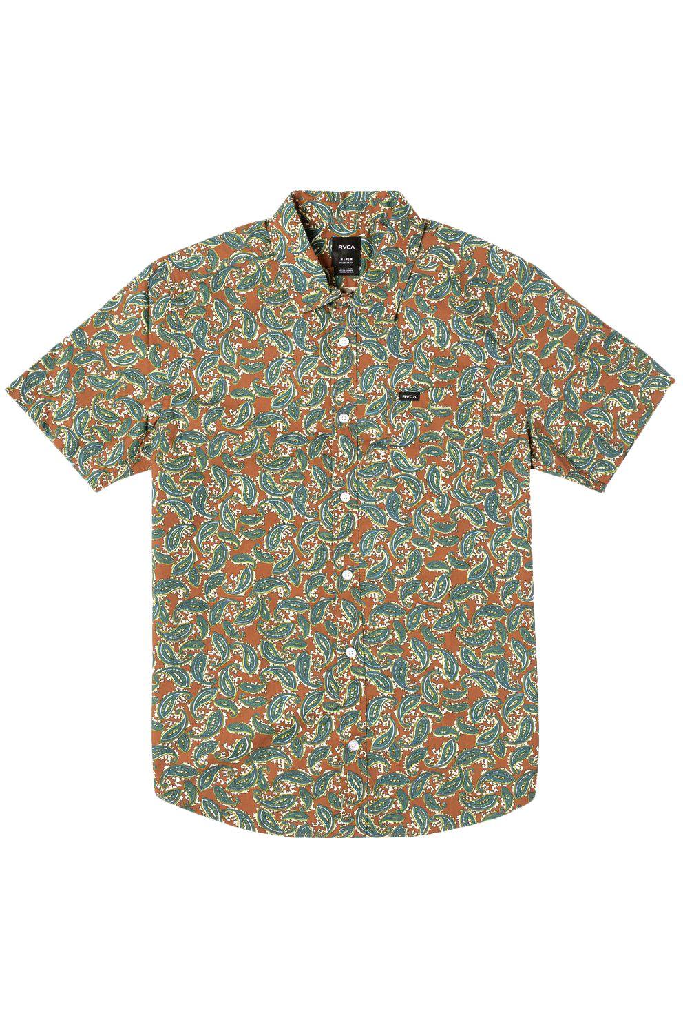 Camisa RVCA MIND FLOWER PAISLEY Clay