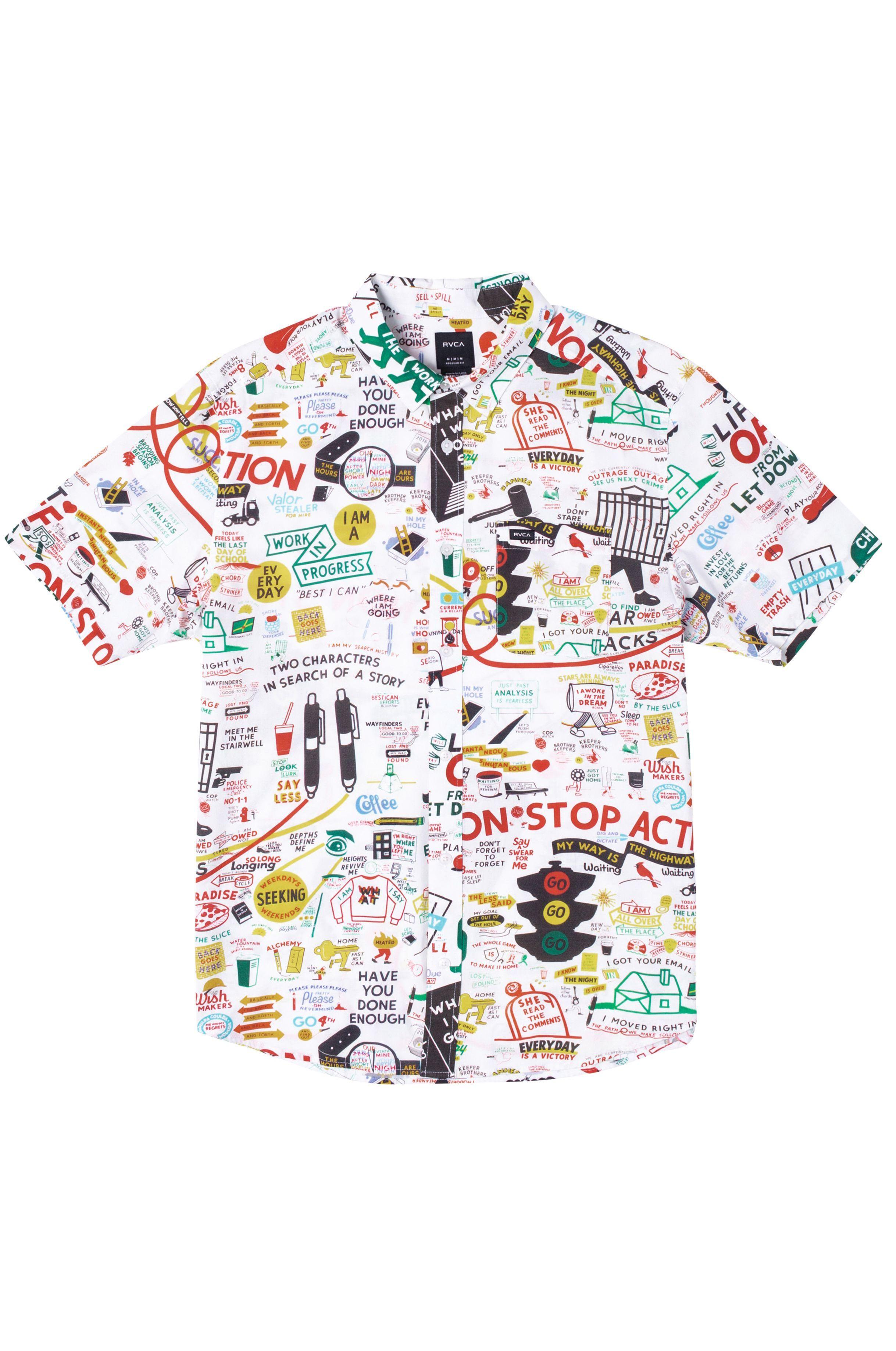 Camisa RVCA ESPO SS ESPO White