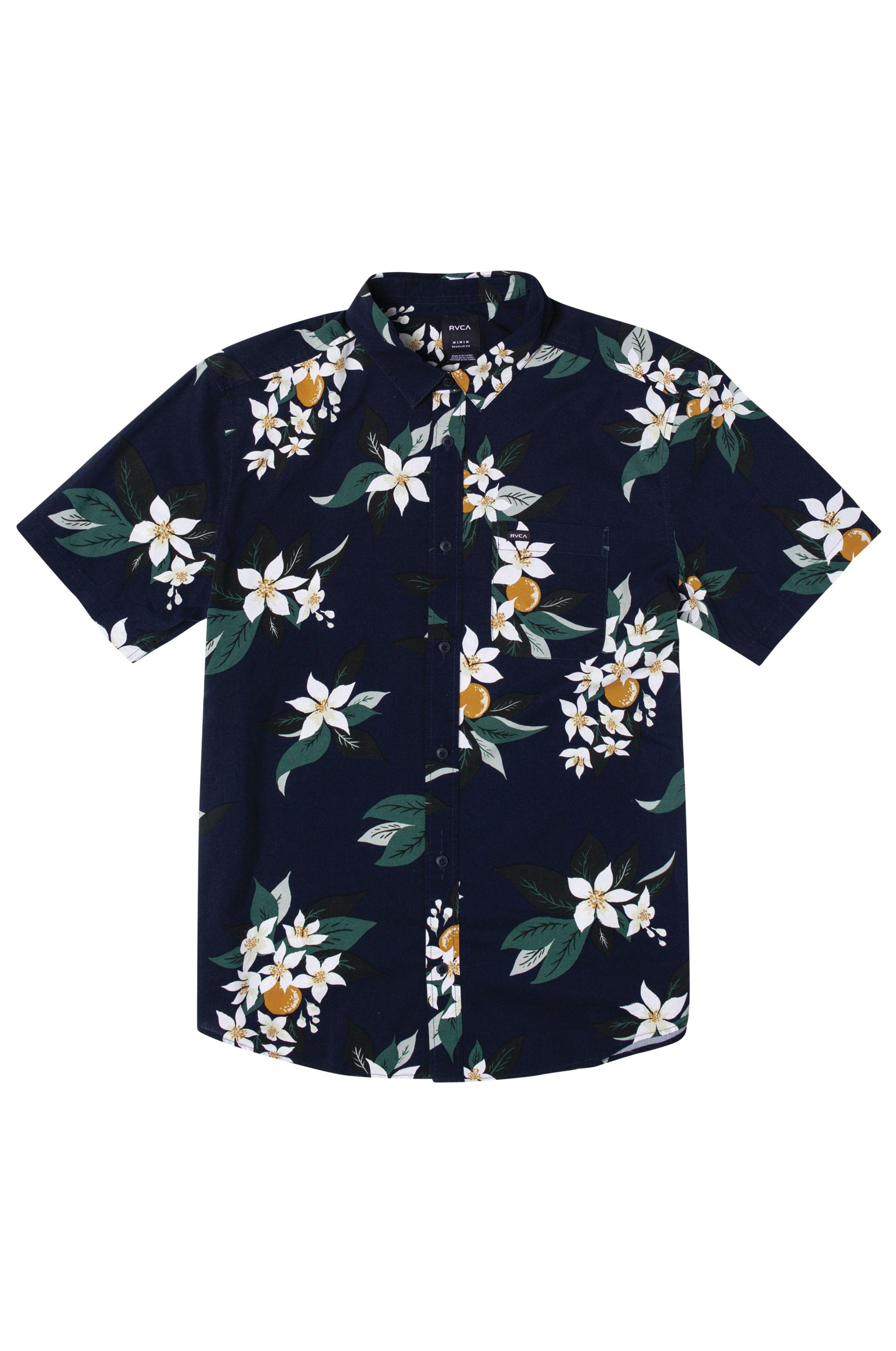 Camisa RVCA ANAHEIM SS Navy Marine