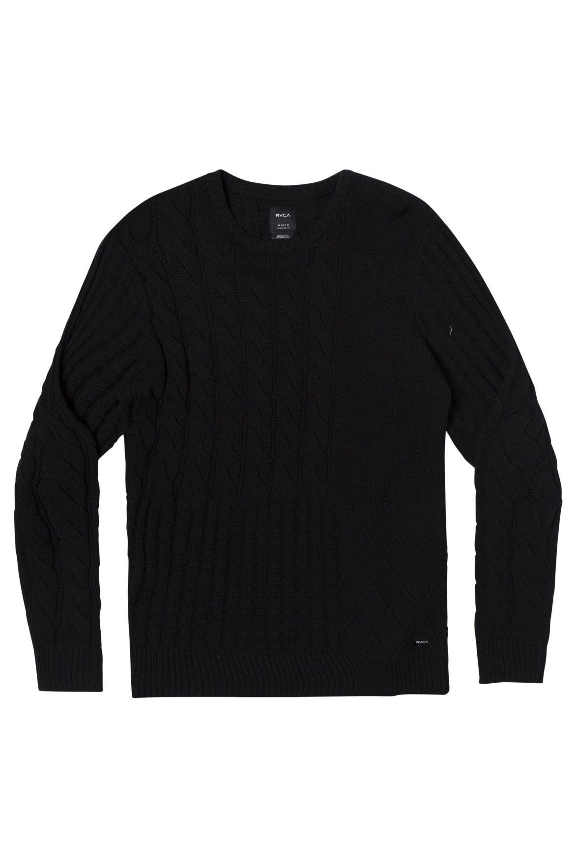 Camisola RVCA DESMOND SWEATER Black