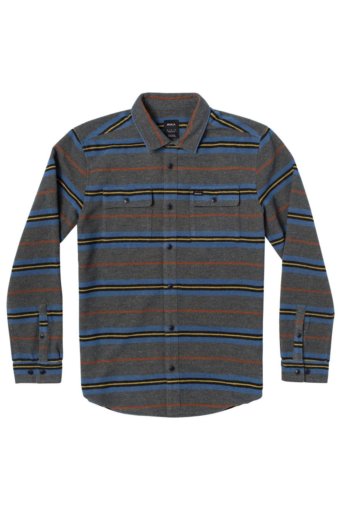 RVCA Shirt RVCA BLANKET LS Multi