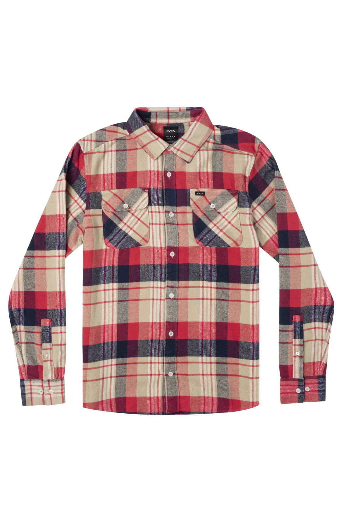 Camisa RVCA THATLL WORK FLANNEL Khaki