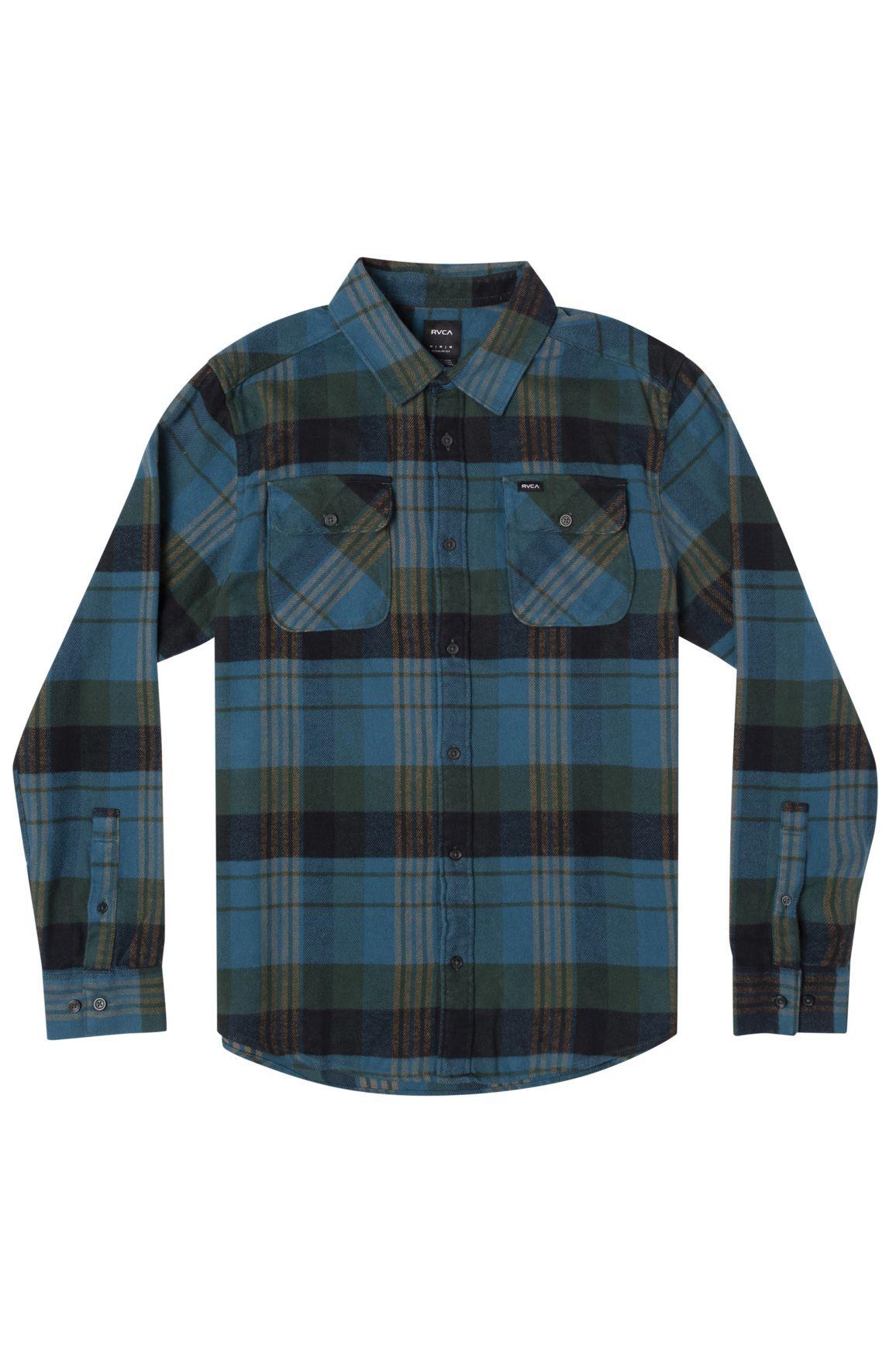 Camisa RVCA THATLL WORK FLANNEL Hunter Green