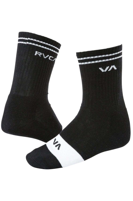 RVCA Socks UNION SKATE SOCK Black
