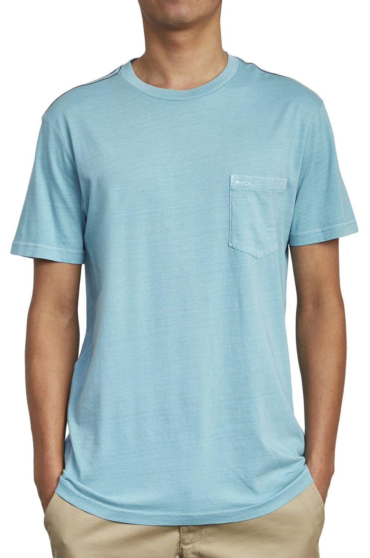 T-Shirt RVCA PTC 2 PIGMENT Bermuda Blue