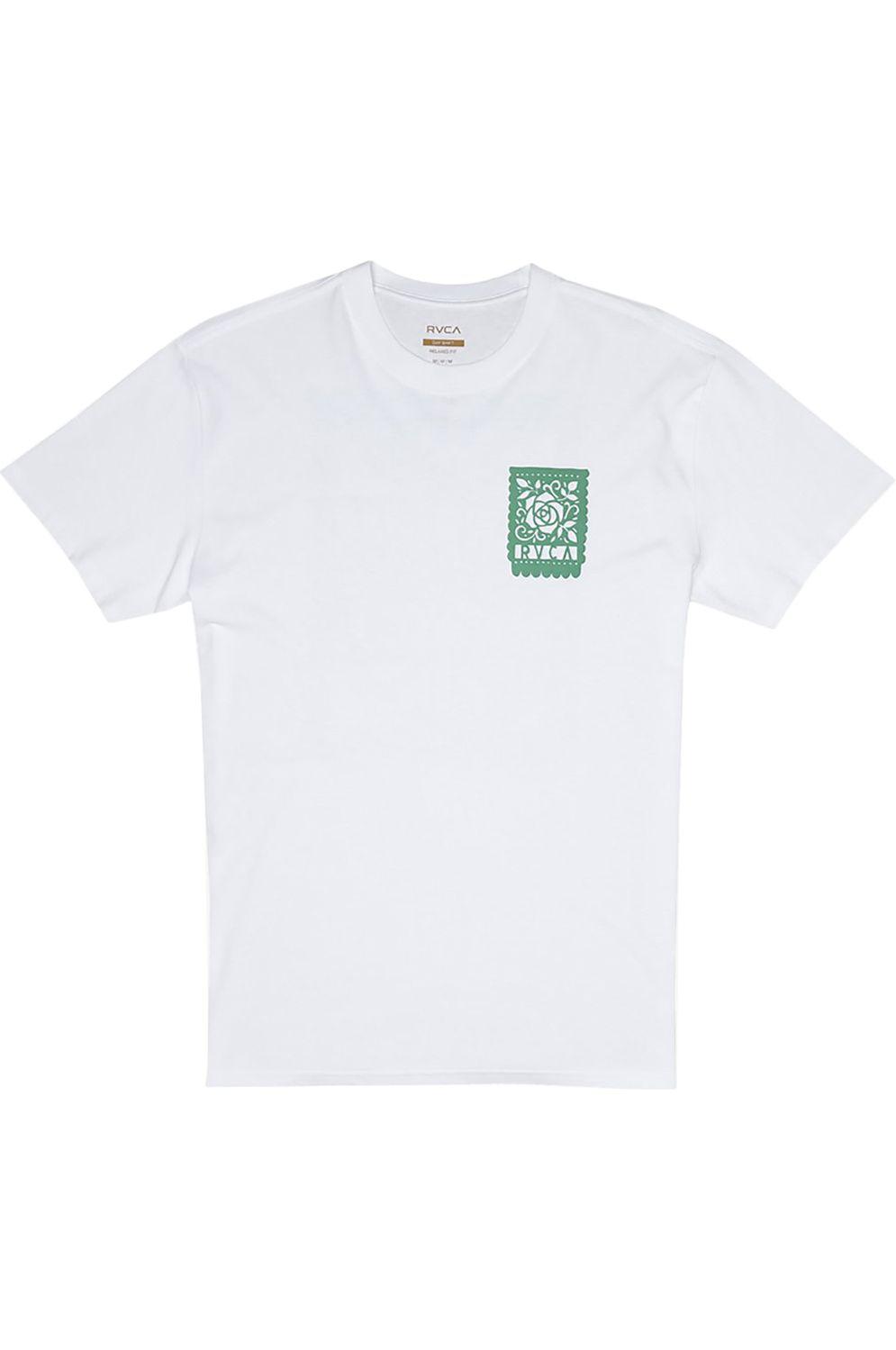 T-Shirt RVCA LA ROSA HOT FUDGE White