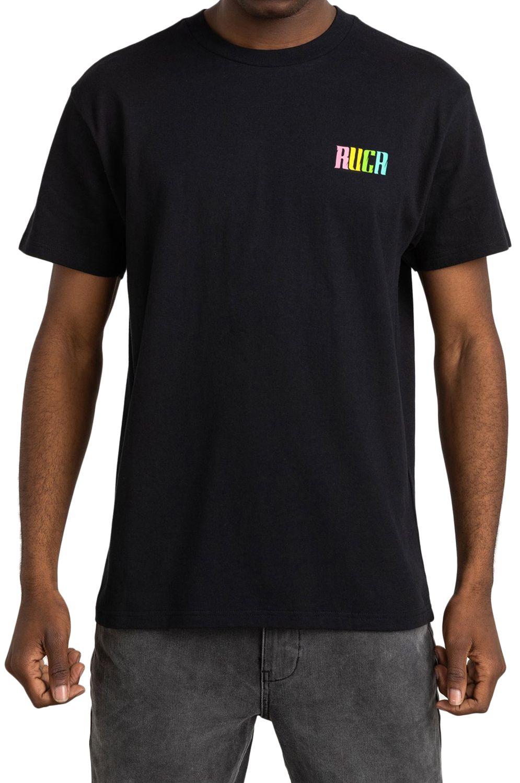 T-Shirt RVCA LIZARD WIZARD Black
