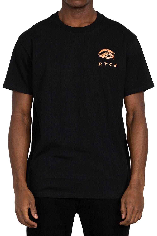 T-Shirt RVCA FAUNA JESSE BROWN Black