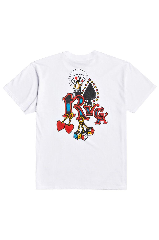 T-Shirt RVCA BOLTZ SS SMITH ST White