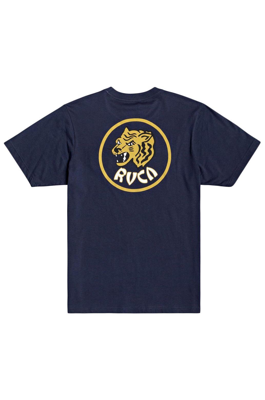 T-Shirt RVCA DYNASTY SS TEE Moody Blue