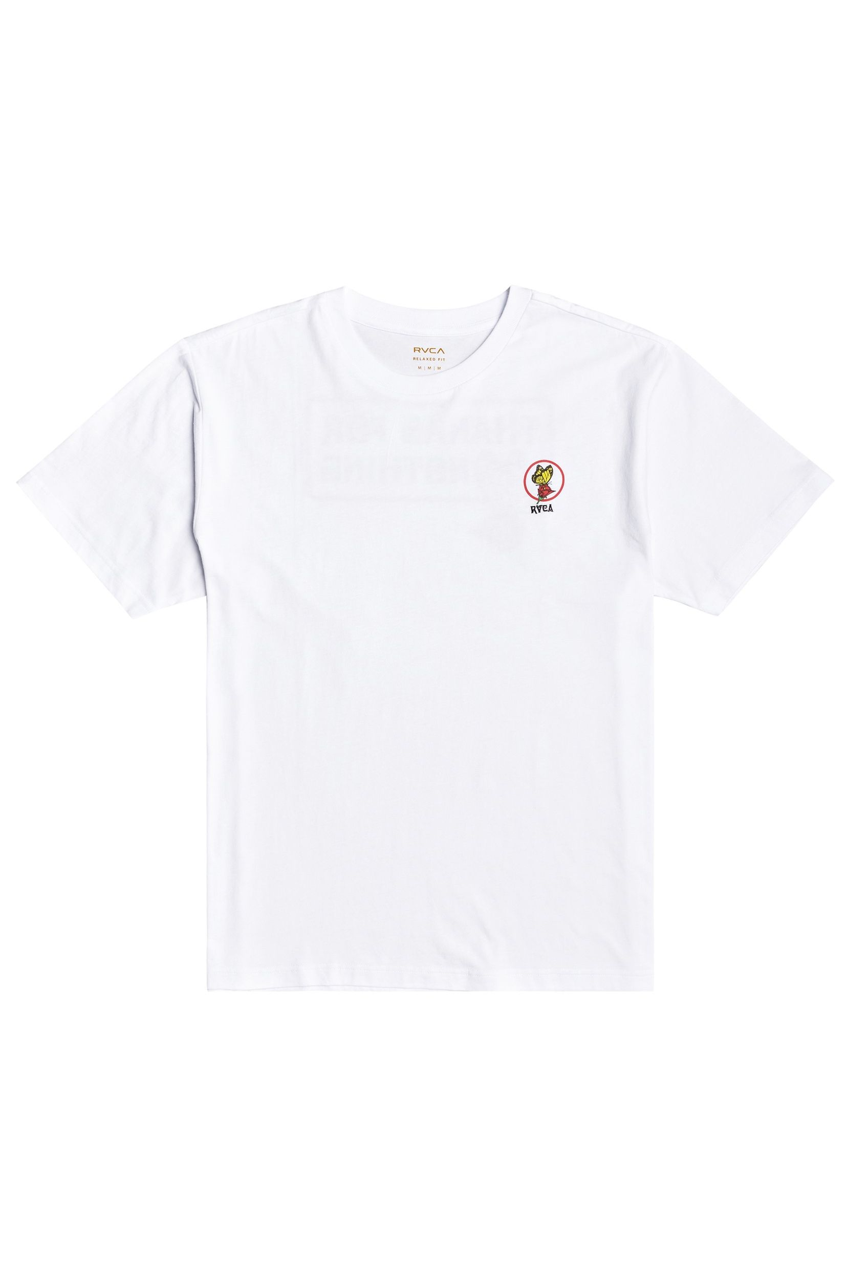 T-Shirt RVCA NOTHING SS TEE White