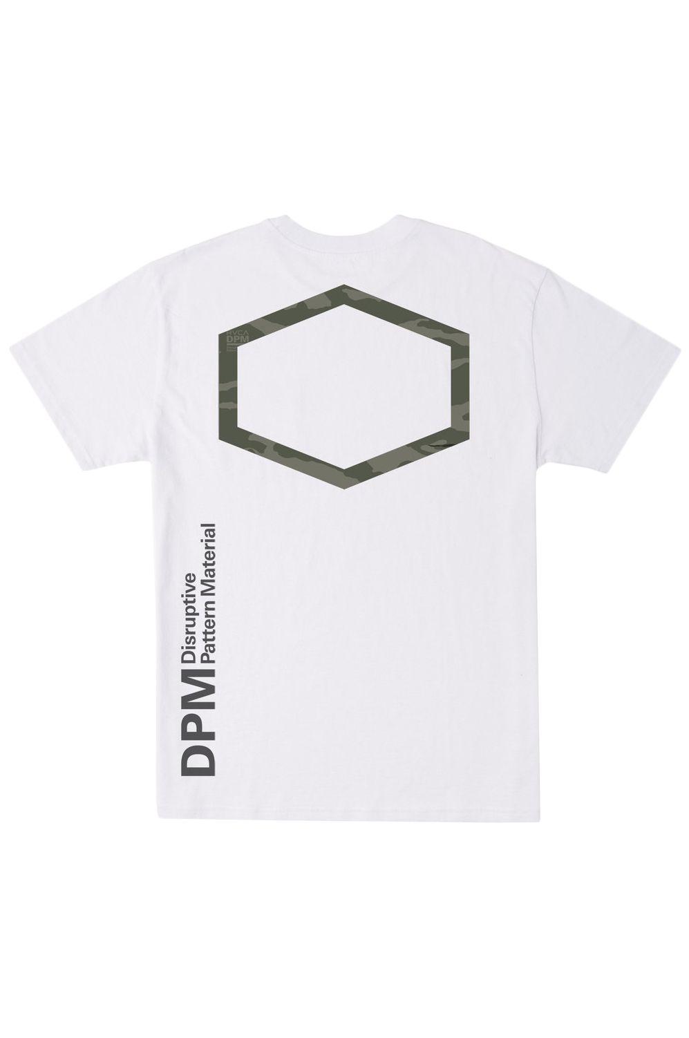 RVCA T-Shirt DPM POCKET TEE DPM White