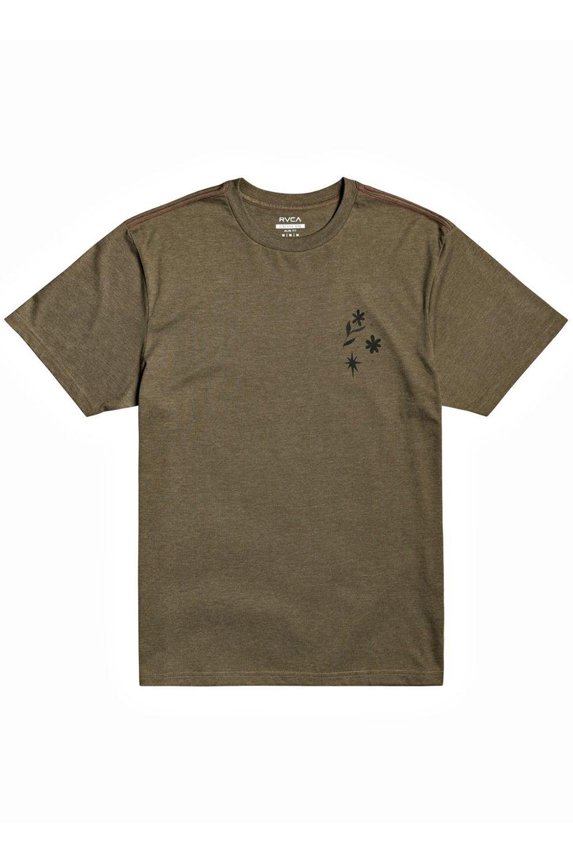 T-Shirt RVCA JOHANNA SS JOHANNA OLK Sequoia Green