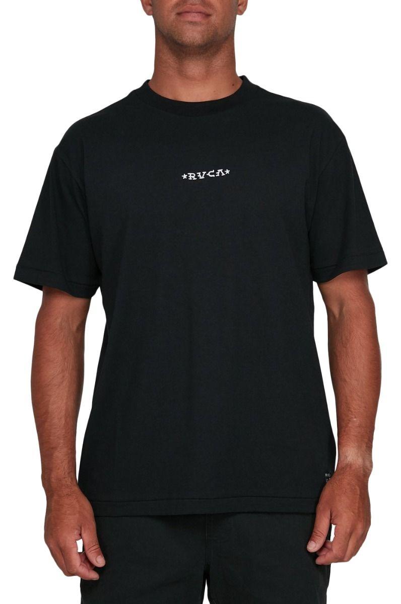 RVCA T-Shirt KRAK DAGGERS SS TEE BERT KRAK Black
