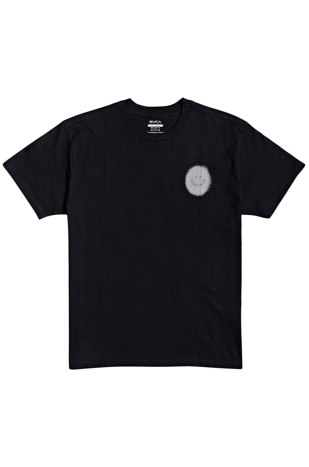T-Shirt RVCA SKULLS AND ROSES SS BENJAMIN JEAN JEAN Black