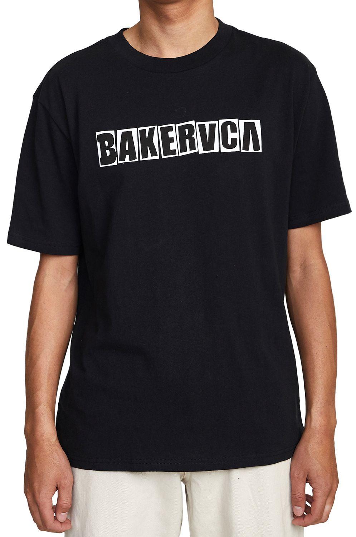 RVCA T-Shirt RANSOM SS TEE BAKER Black