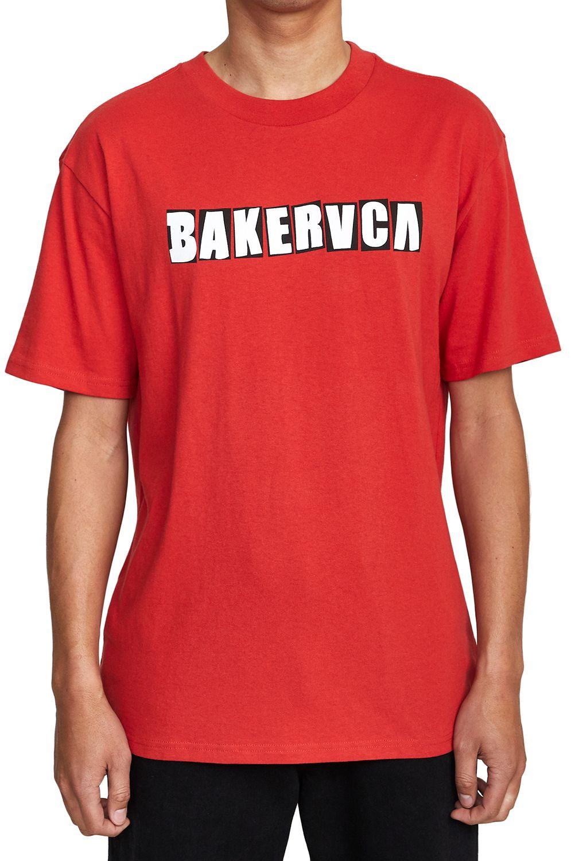 RVCA T-Shirt RANSOM SS TEE BAKER Red