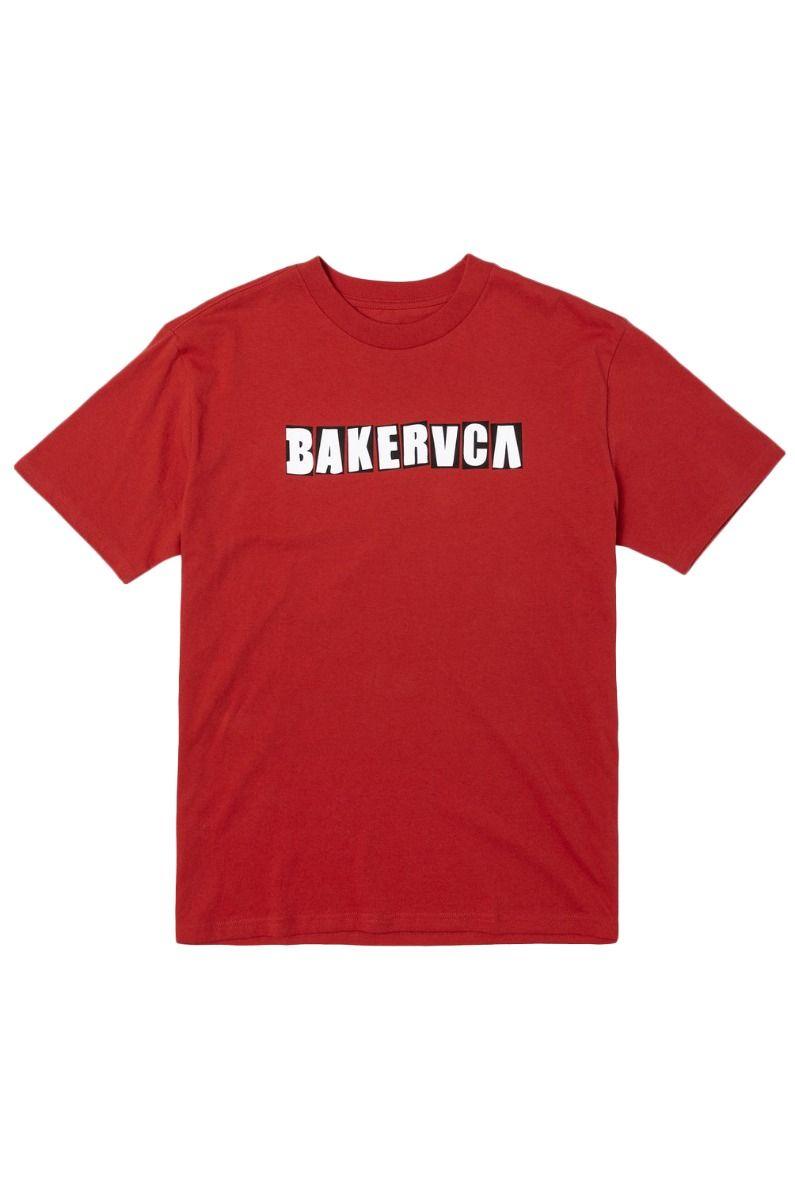 T-Shirt RVCA RANSOM SS TEE BAKER Red