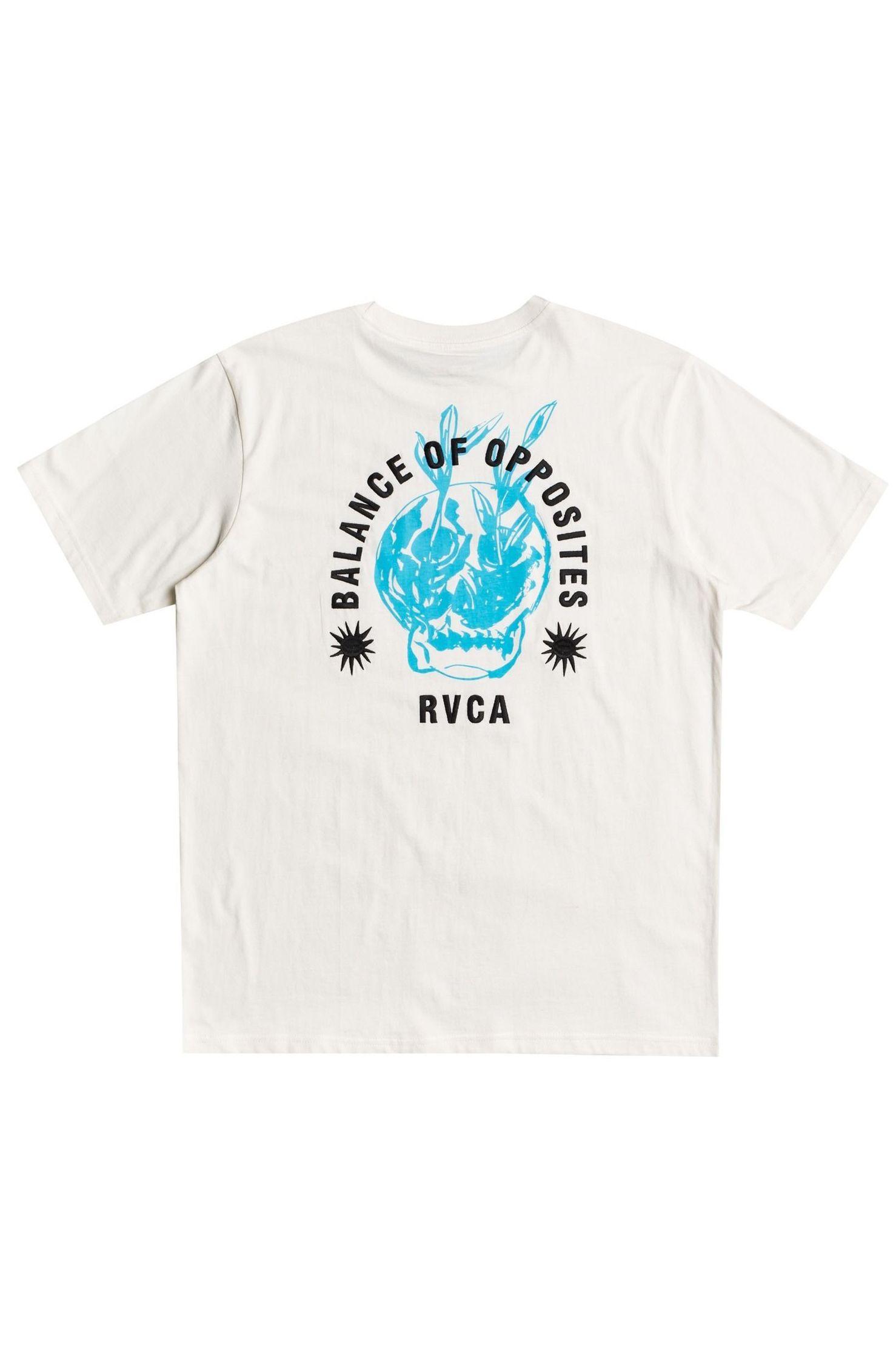 T-Shirt RVCA RVCA BALANCE SUPERBLAST Antique White