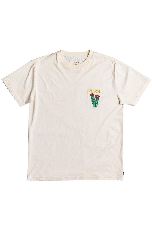 T-Shirt RVCA SOCIETAS SS TEE Bleached