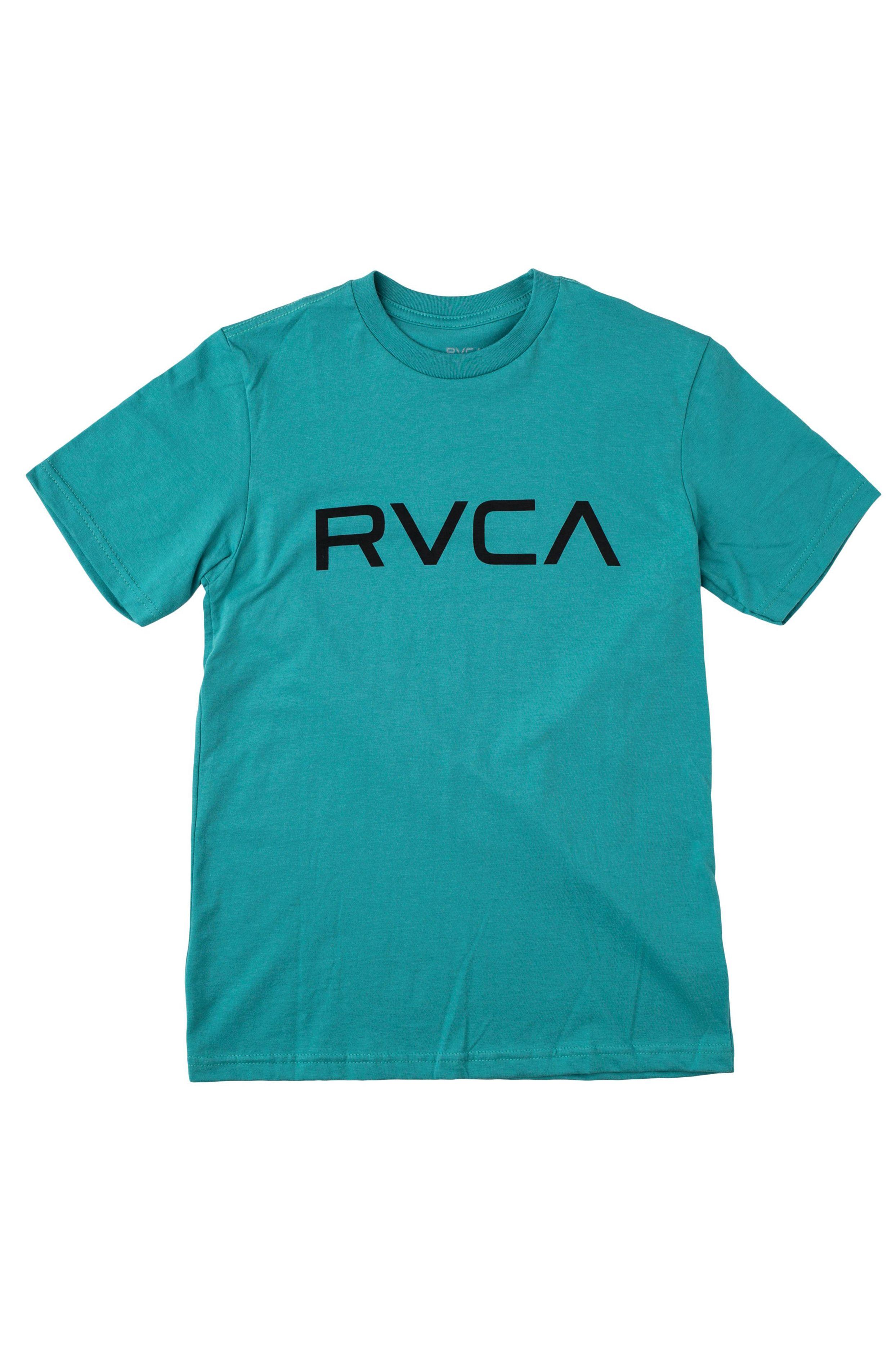 T-Shirt RVCA BIG RVCA SS Turquoise