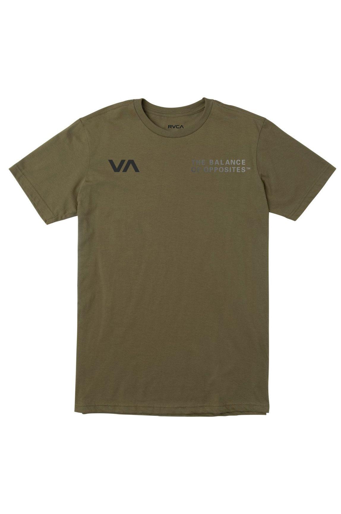 T-Shirt RVCA VA GLORY SS VA SPORT Terre Verte